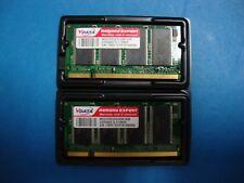 NEW 1GB (512mb X2 Kit) PC2100 DDR-266 DDR1 Laptop/Notebook RAM Memory