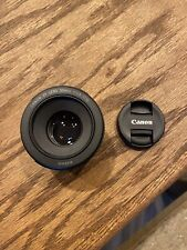 Canon Ef 50mm F/1.8 Focal Length Lens. New Without Box.