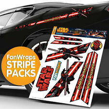 STAR WARS DARTH MAUL FanWraps Automotive Graphics Car Pin Striping Kit