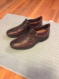 Nikee Air Cole Haan Men's Brown Leather Slip-on Loafers Shoes US Size 10 M