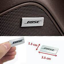 4pcs Bose Hi-Fi Speaker audio Speaker 3D Aluminum Badge Emblem