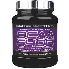 Scitec Nutrition BCAA 6400 Aminoacidi Ramificati 375 compresse da 1 grammo
