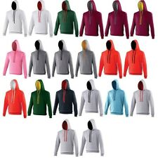 Unisex Adult Men Women Varsity Cotton Rich Hoodie Hooded Top