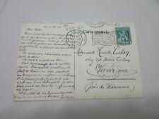 "Belgium Post Card ""Gand Exposition 1913 Gent-Tentoonstelling"" Postmark - RB1359"