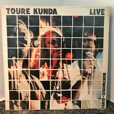 TOURE KUNDA Live Paris-Ziguinchor LP 1984 FACTORY SEALED ORIG US PRESS Senegal
