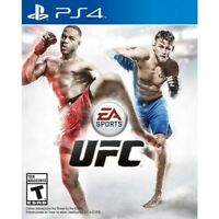 UFC 1 PS4 Video Game playstation 4