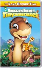 RARE OOP The Land Before Time: Invasion of the Tinysauruses (2005) VHS cartoon