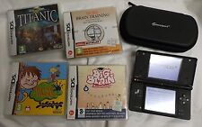 Black Nintendo DSi DS Bundle w/ Games