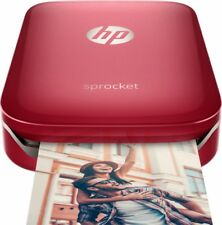 HP Sprocket Photo Printer – Red Z3Z93A Brand New Sealed