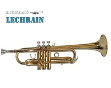 C-Trompete, Gold, Jazztrompete, Trompete - M. Lechrain