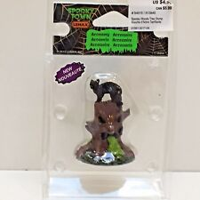 SPOOKY WOODS TREE STUMP, Lemax Spooky Town 2015, New Unopened Pkg