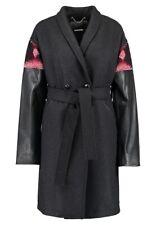 Diesel L-SOPHIA Women Jacket in Dark Grey Size UK S