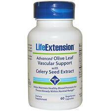 Olive Leaf & Celery Seed Extract - 60 Vcaps by Life Extension - Vascular Support