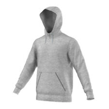 Adidas Core 15 sudadera medio gris Heather/blanco (gris) L