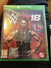 WWE 2K18 Xbox One W2K18 * NEW SEALED PAL *