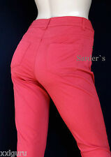 Rick Cardona New York Stretch Chino Hose 22 Slim Fit 44 L30 RöhrenJeans Pink NEU