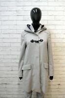 HUGO BOSS ORANGE Donna M Cappotto Lana Giacca Blazer Jacket Woman Trench Grigio