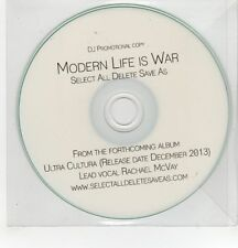 (GH275) Modern Life Is War, Select All Delete Save As - 2013 DJ CD