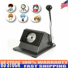 Black Manual Round 58mm Graphic Punch Die Special Card Cutter Badge/Button Maker