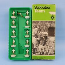 vintage Table Soccer 1970's Subbuteo Soccer Team C100 Ref 10 Original