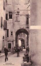 CARTE POSTALE À LAIGUEGLIA - VIA VITTORIO EMANUELE - ANNÉES '20 C4-1741