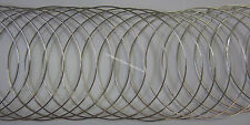 20 Loops Bracelet Memory Wire 55mm Silver Tone Jewellery Making, Beading & Craft
