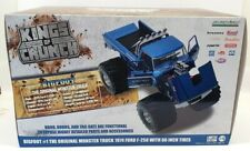 Ford F-250 Monster Truck 66-Inch Tires Bigfoot #1 Kings of Crunch blue 1:18