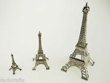 (S) Paris Parisian France French Eiffel Tower Replica Prop Wedding Cake Topper