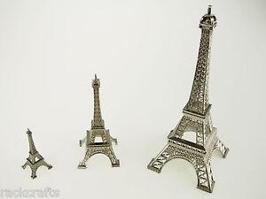 (M) Paris Parisian France French Eiffel Tower Replica Prop Wedding Cake Topper