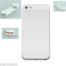 Iphone 5 White Complete Housing Back Battery Door Cover & Mid Frame Assembly