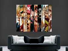 "One piece manga art mural large image poster géant """" """