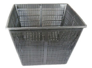 "13"" Square Koi Pond Plant Basket for Large Pond Planting of Large Aquatic Plants"