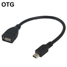 Câble mini usb vers usb femelle OTG pour autoradios ou tablette multimedia