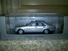 Spark Mercedes-Benz S500 (W140) Silver 1:43***NOW SOLD OUT!