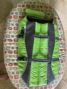 New TOP PAWS Dog Life Jacket Reflective Stripe Vest Size XL