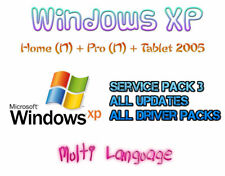 WINDOWS XP HOME (N) + PROFESSIONAL (N) + TABLET EDITION 2005 | MULTI LANGUAGE