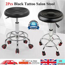 2 Pack Salon Barber Massage Stool Hairdressing Swivel Tattoo Spa Chair Lift Sale