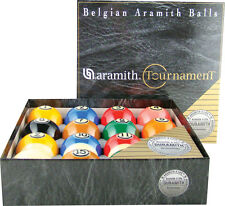 Aramith Tournament Pro Cup TV Ball Set Belgian Duramith Pool Balls Billiards
