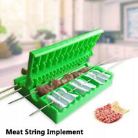 Barbecue Stringer Kebab Maker Box String Grill Barbecue Accessories BBQ Gadget