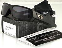 NEW Oakley Gascan Sunglasses Matte Black l Grey 03-473