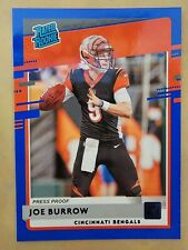 2020 Donruss Press Proof Blue #301 Joe Burrow RR