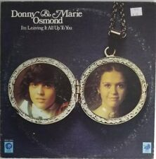 Donny & Marie Osmond I'm Leaving It All Up To You LP M3G 4968