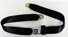 "New! Black seat belts GM logo Metal Buckle 60"" Long Camaro, Buick, price is each"