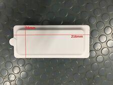 MOTORHOME & CARAVAN REICH EXTERNAL SHOWER SUPPLY LID & BASE SHELL IN WHITE