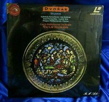 Sealed Laserdisc: Neumann -Benackova - Kirilova - Vele - Dvorak - Requiem - RCA