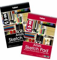 A4 Artist Sketch Drawing Book Pad 40 Sheets 90gsm Sketching
