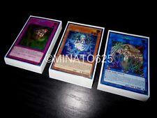 Yugioh Complete Weather Painter Deck! Rainbow Snow Thunder Cloud Thundery Canvas