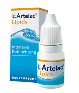 ARTELAC LIPIDS 10ml EYE DROPS for irritated, stinging, tearing eyes free shippin