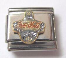 Coca-Cola Italian Charm Bottle Opener Casa D'Oro Stainless 2003