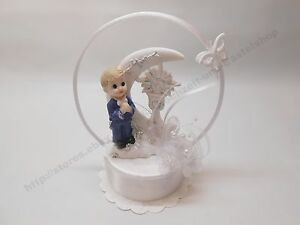 Tortenaufsatz Tortenfigur zur Kommunion - Figur Junge betend - 15cm